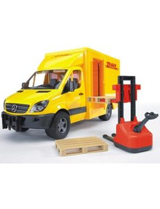 Mercedes Benz Sprinter DHL met palletheffer