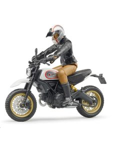Bruder 63051 - Ducati Scrambler Sled en berijder