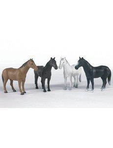 Paard (in 4 kleuren) 1:16