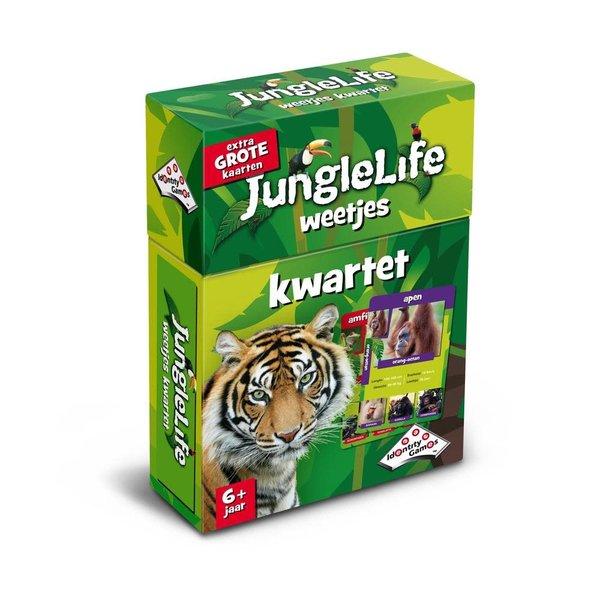 Jungle life weetjes kwartet