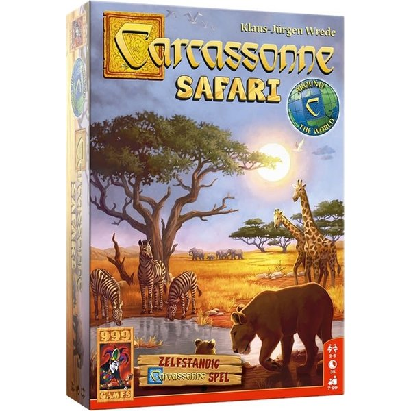 999 Games Carcassonne safari