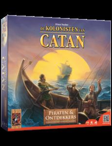 De kolonisten van Catan piraten en ontdekkers
