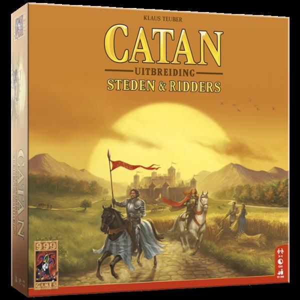 999 Games Catan uitbreiding: Steden en Ridders