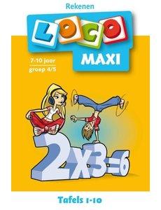 Noordhoff Uitgeverij Loco maxi tafels 1-10