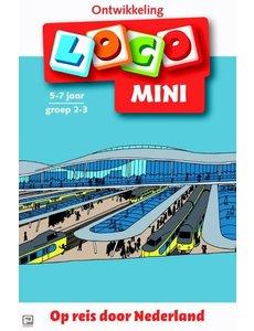 Noordhoff Uitgeverij Loco mini - Op reis door Nederland - Groep 5-6 (8-9 jaar)
