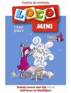 Noordhoff Uitgeverij Loco mini - foeksia tovert met tijd - groep 4 (7/8 jaar)