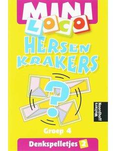 Noordhoff Uitgeverij Loco mini hersen krakers - denkspelletjes 2