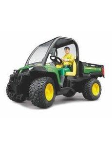 Bruder 2490 - John Deere Gator XUV 855D met chauffeur