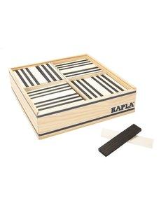 Kapla Kapla 100 stuks, zwart wit in kist