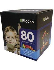 BBlocks BBlocks 80 stuks gekleurde plankjes