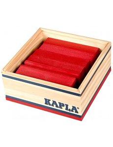 Kapla 40 stuks rood