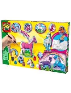 SES Gips gieten en schilderen Fantasie paarden