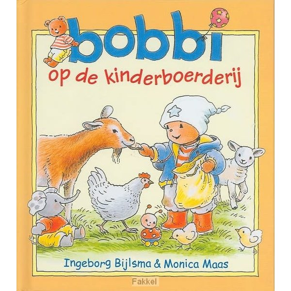 Kluitman Bobbi op de kinderboerderij