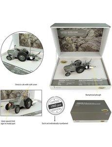 Universal Hobbies Universal Hobbies 5364 - Ferguson TE 20 met Sirocco Cab, Rumpstad eenschaar-kantelploeg 1:32