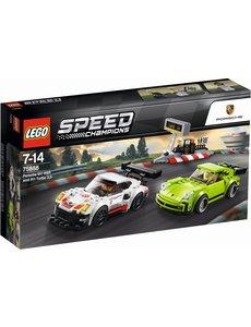 LEGO Porsche 911RSR en 911 Turbo 3.0