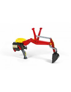 Rolly Toys Rolly achterlader rood