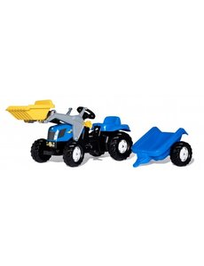 Rolly Toys Rolly Kid New Holland T 7040 met frontlader