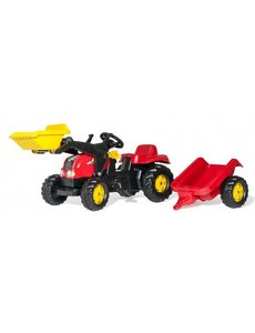 Rolly Toys Rollykid-X rood met frontlader