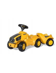 Rolly Toys Minitrac Volvo met aanhanger