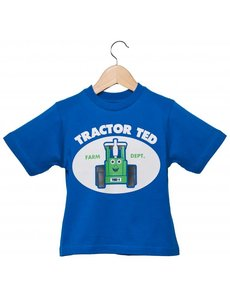 Tractor Ted T-Shirt Blauw