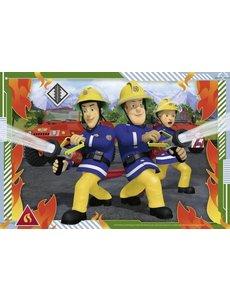 Brandweerman Sam en zijn team - 2 x 12 stukjes