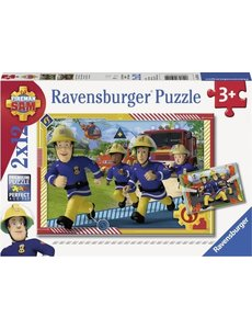 Ravensburger Brandweerman Sam en zijn team - 2x12 stukjes