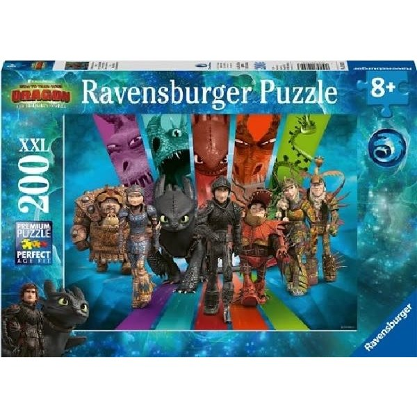 Ravensburger Drakenrijders 3 - 200 stukjes XXL
