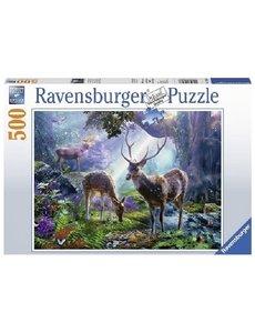 Ravensburger Herten in het bos  500 stukjes