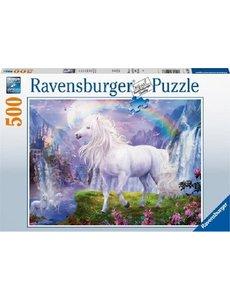 Ravensburger In het dal van de regenboog  500 stukjes