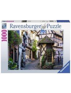 Ravensburger Eguisheim in de Elzas  1000 stukjes