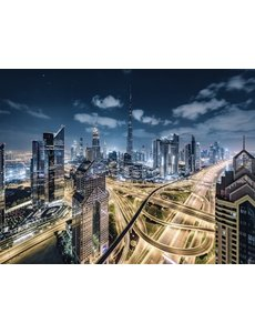Uitzicht op Dubai - 2000 stukjes