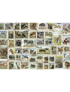Dieren Postzegels - 3000 Stukjes