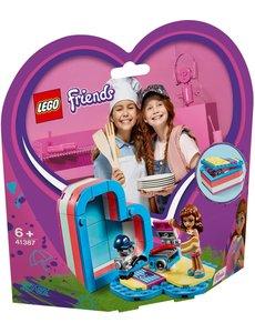 LEGO 41387 - Olivia's hartvormige zomerdoos