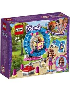 LEGO 41383 - Olivia's hamsterspeelplaats