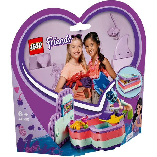 LEGO 41385 - Emma's hartvormige zomerdoos