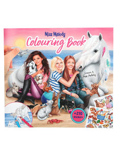 Depesche Miss Melody Colouring Book