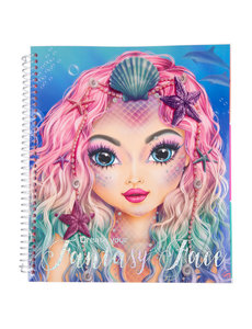 Depesche Create your Fantasy Face kleurboek