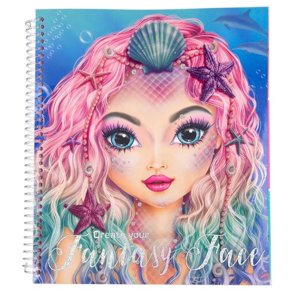 Depesche Create your Fantasy Face kleurboek