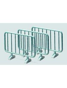 2464 - 10 metalen hekken