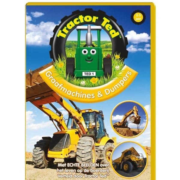 Tractor Ted DVD - Graafmachines en Dumpers