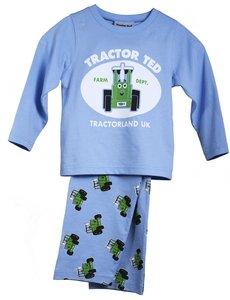 Pyjama lichtblauw maat 116