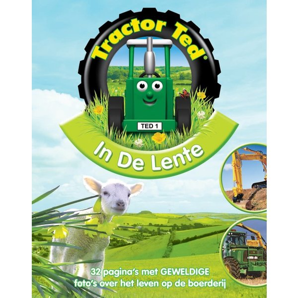 Tractor Ted Boek In de lente