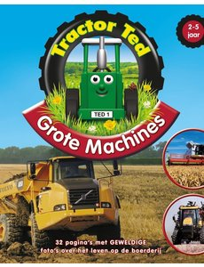 Tractor Ted Boek Grote machines