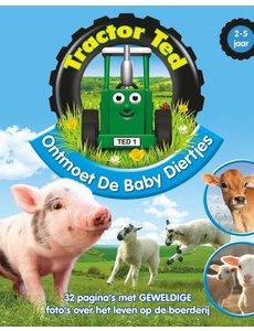 Tractor Ted Boek Ontmoet de baby diertjes