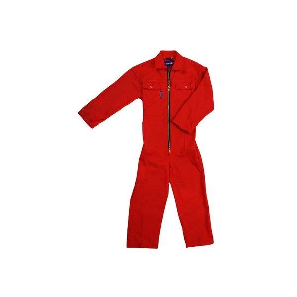 Overall rood maat 128