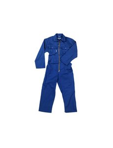 Overall blauw maat 116