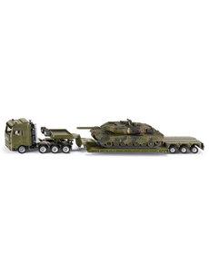 Low lader met tank