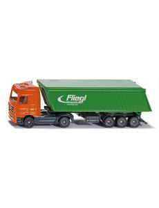 1796 - Truck met Fliegl kieper