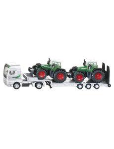 Dieplader met Fendt tractoren