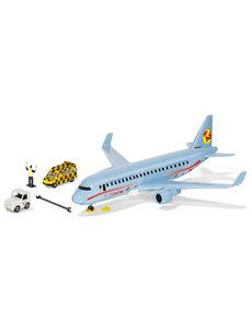 Siku 5402 - Verkeersvliegtuig met accessoires